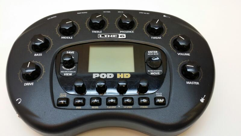 LINE 6 Musical Instruments Part/Accessory POD HD