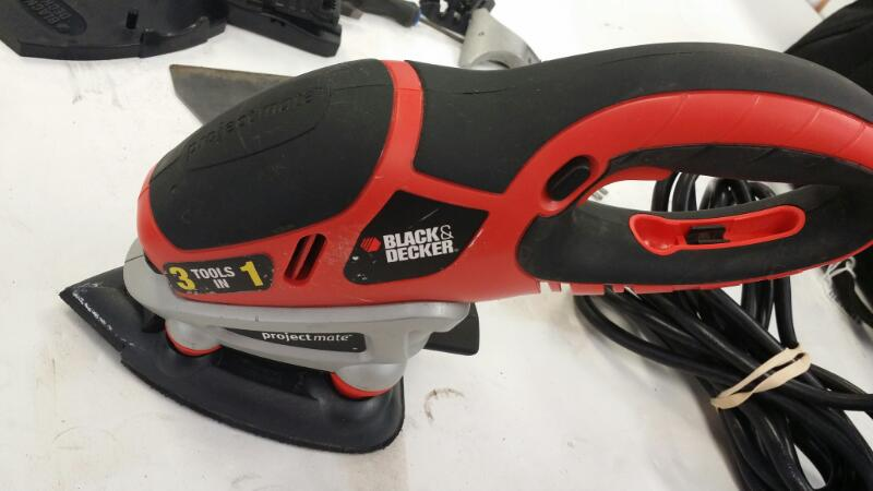 BLACK&DECKER Vibration Sander PM3000 3 IN 1]