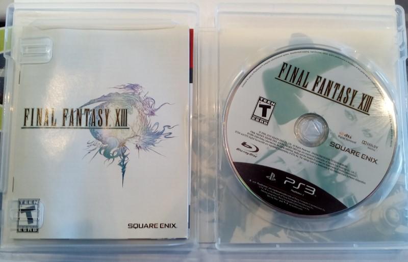 PS3 FINAL FANTASY XIII - SONY PLAYSTATION 3