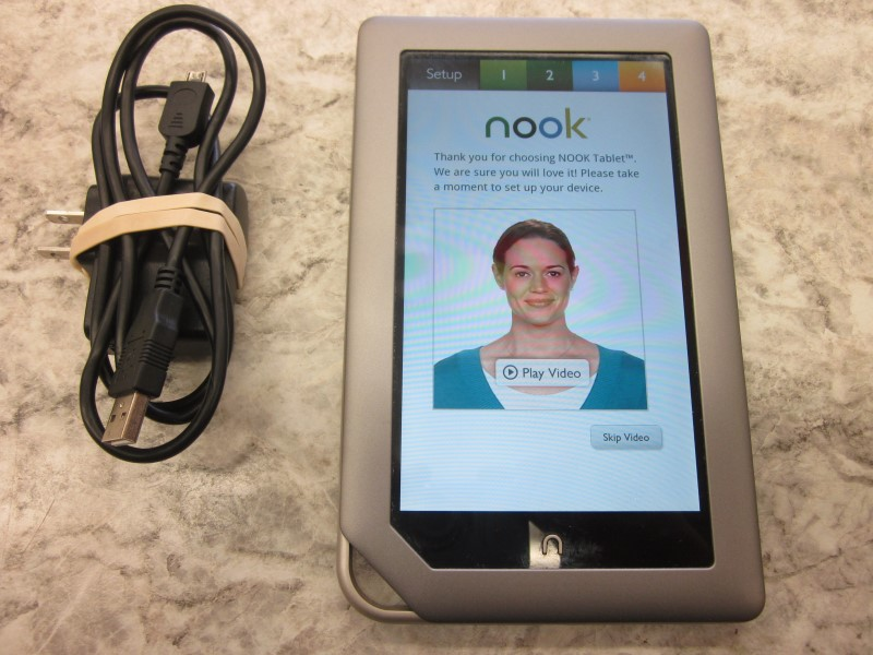 BARNES & NOBLE NOOK BNTV250 8GB COLOR