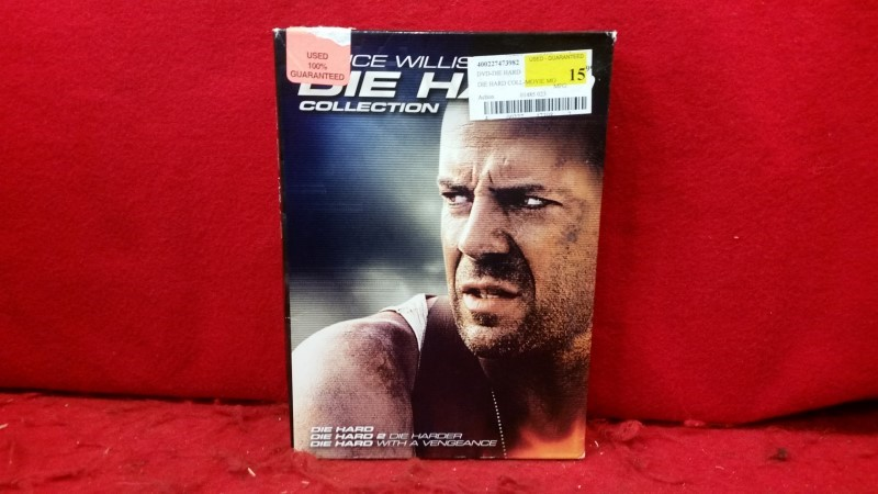 Die Hard Collection (Die Hard / Die Hard 2 - Die Harder / Die Hard with a Venge