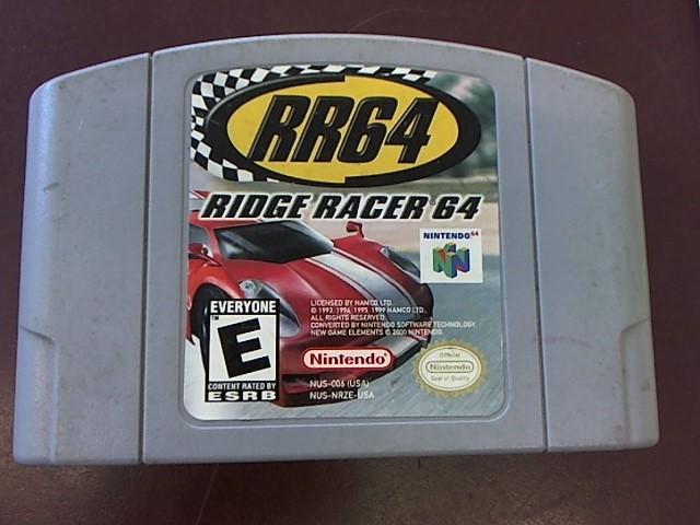 NINTENDO N64 RR64 RIDGE RACER