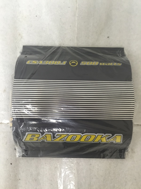 BAZOOKA MOBILE AUDIO Car Audio CSA300.1