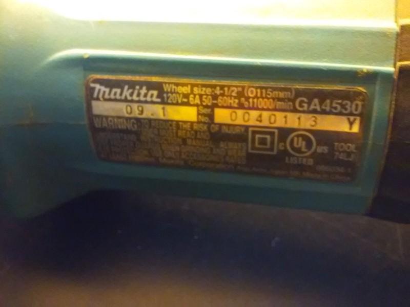 MAKITA Disc Grinder GA4530