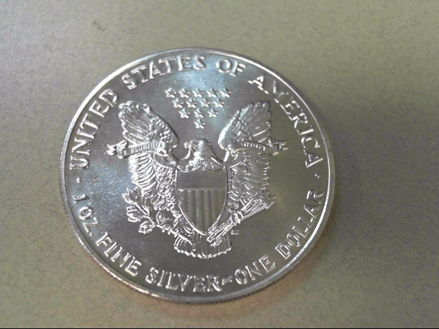 UNITED STATES Silver Coin 1989 SILVER EAGLE DOLLAR