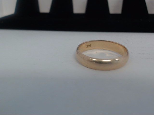 Gent's Gold Ring 14K Yellow Gold 4.5g Size:7.5