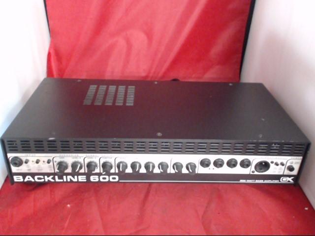 GK Rack Gear BACKLINE 600