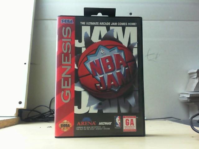 SEGA Sega Game NBA JAM-GENESIS