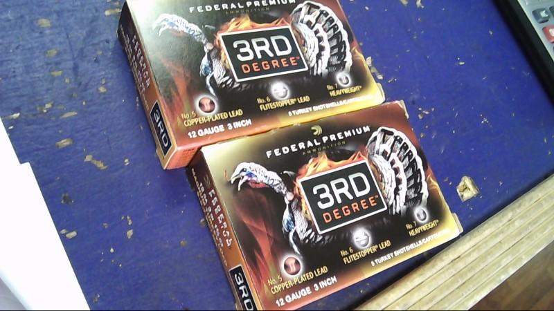 FEDERAL AMMUNITION Ammunition 3RD DEGREE 12 GA.