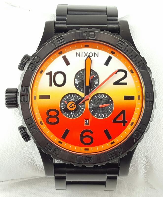 NIXON THE 51-30 CHRONO SIMPLIFY BLACK/SUNRISE