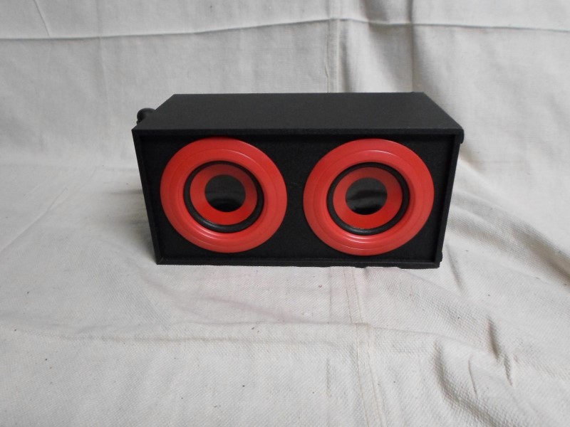 VIBE SOUND Aux Speakers. DG-577 Red.