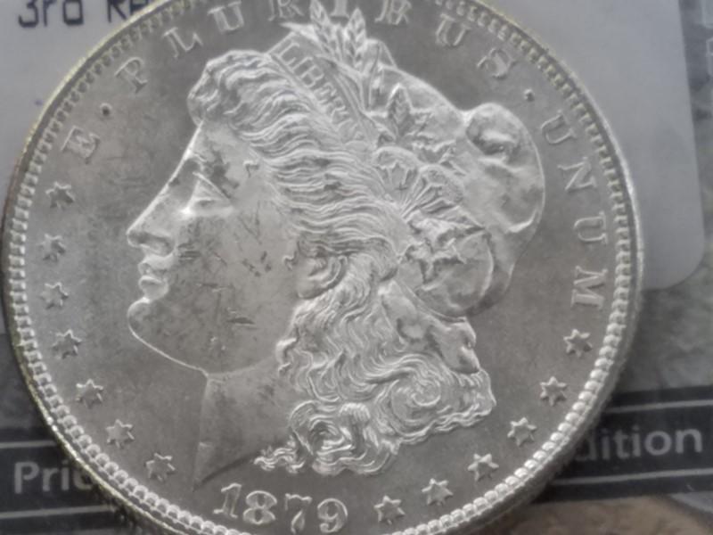 U.S. 1879-S MORGAN SILVER DOLLAR