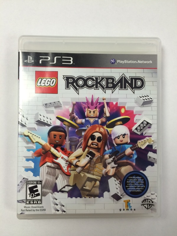 Lego Rockband - (Sony Playstation 3, 2009) PS3