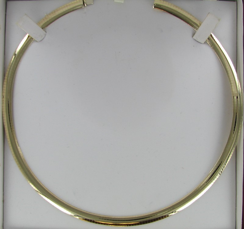 Gold Omega Chain 14K Yellow Gold 25.1dwt