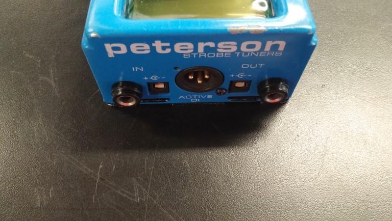 PETERSON TUNERS Effect Equipment VS-S STROBO STOMP