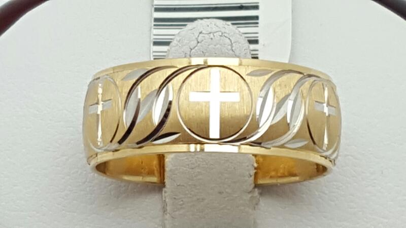 Gent's Gold Wedding Band 14K Yellow Gold 7g Size:10