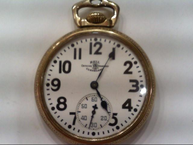 BALL OFFICIAL STANDARD, 21 JEWEL, 1904 POCKET WATCH, SER#B64648