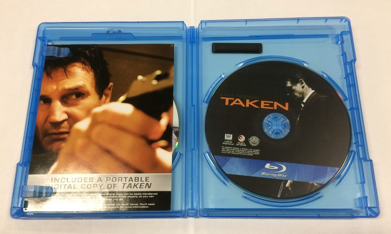 TAKEN, ACTION BLU-RAY MOVIE