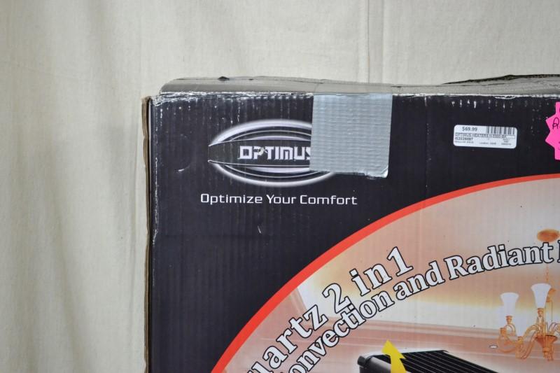 OPTIMUS Heater H-5300-BK