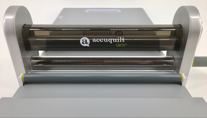 ACCUQUILT GO! 55100 FABRIC CUTTER CUTTING MACHINE, ONE DIE