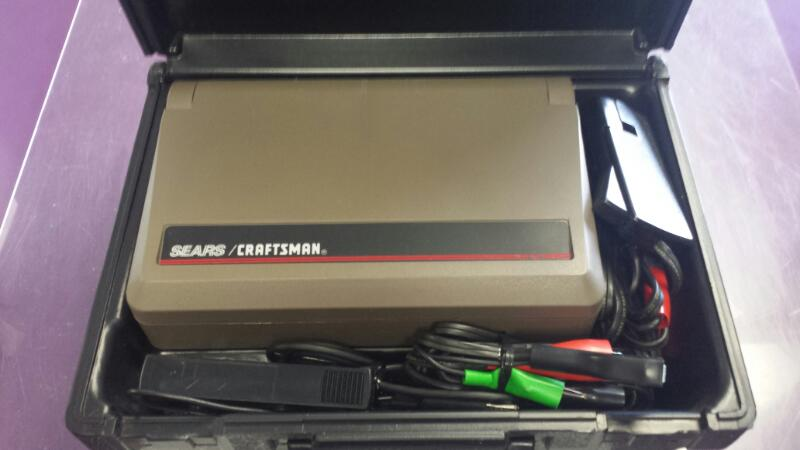 Sears Craftsman Portable Diagnostic Analyzer 2167 w/ Case