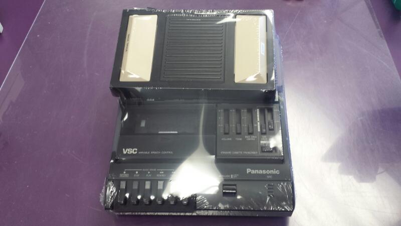 Panasonic RR-830 Dictation Standard Cassette Transcriber w/ Foot Pedal
