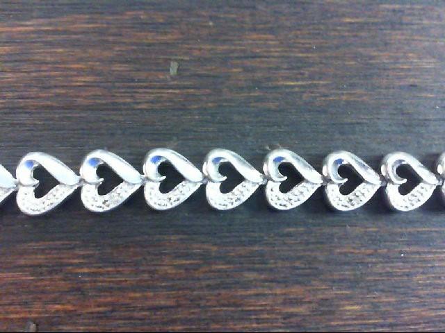 Silver Fashion Bracelet 925 Silver 15.8g