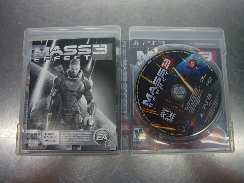 SONY PlayStation 3 Game MASS EFFECT 3