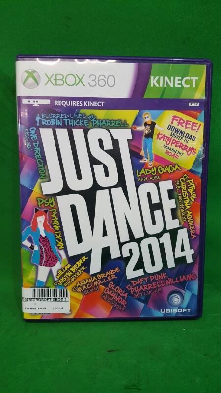 Just Dance 2014 Microsoft Xbox 360