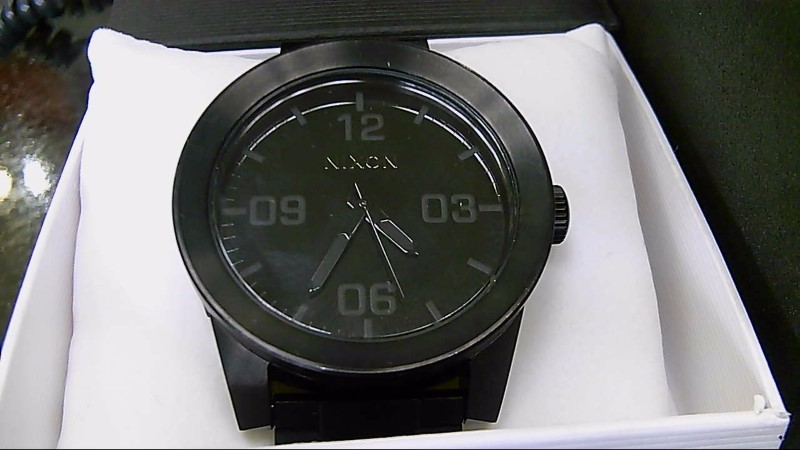 Nixon The Corporal Wrist Watch Black Stainless Steel