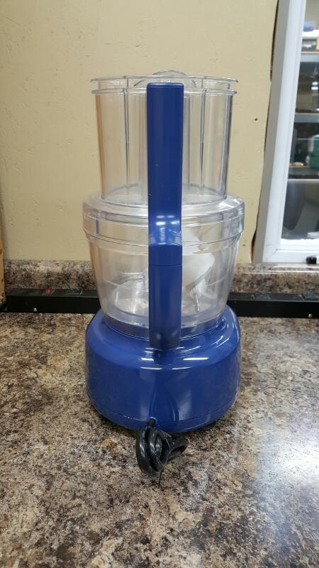 Kitchenaid KFPW761BW0, 3 in 1 Food Processor - Blue