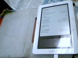 BARNES & NOBLE Tablet NOOK BNTV250A