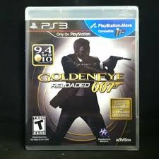 SONY Sony PlayStation 3 Game GOLDEN EYE RELOADED 007