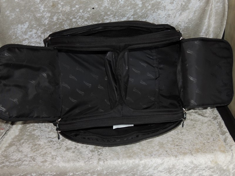 Saddlemen FTB3300 Sport Trunk & Rack Bag Motorcycle Luggage Bag