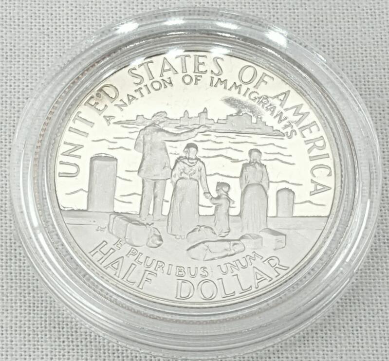 1886-1986 US LIBERTY COINS ELLIS ISLAND PROOF SET