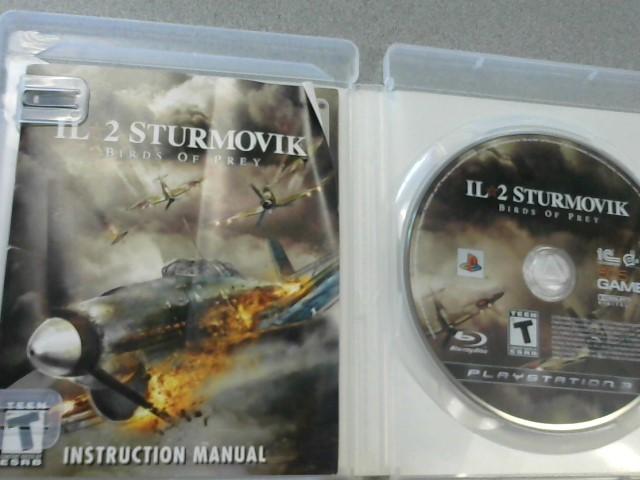 SONY Sony PlayStation 3 Game IL 2 STURMOVIK BIRDS OF PREY