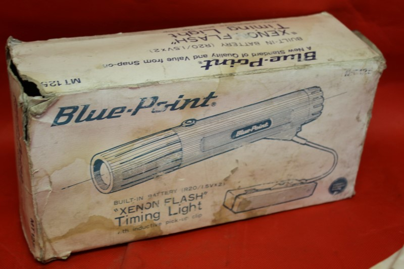 SNAP-ON BRAND BLUE POINT MT125 XENON FLASH TIMING LIGHT