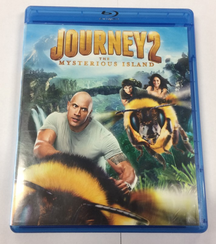 JOURNEY2, THE MYSTERIOUS ISLAND BLU-RAY MOVIE