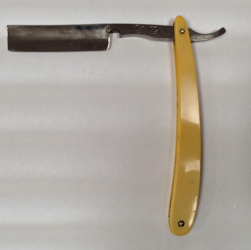 Vintage Genco Safedge Straight Razor