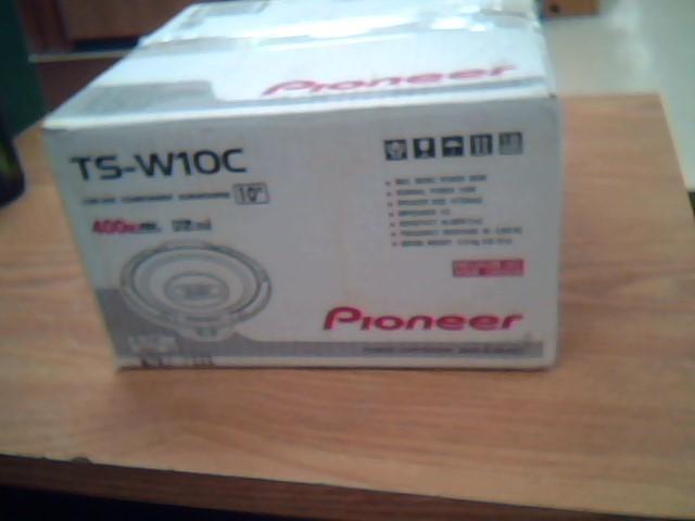 PIONEER ELECTRONICS Car Speakers/Speaker System TS-W10C