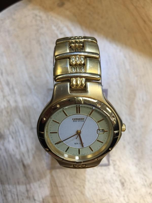 CITIZEN Gent's Wristwatch ECO DRIVE CHRONOGRAPH WR100
