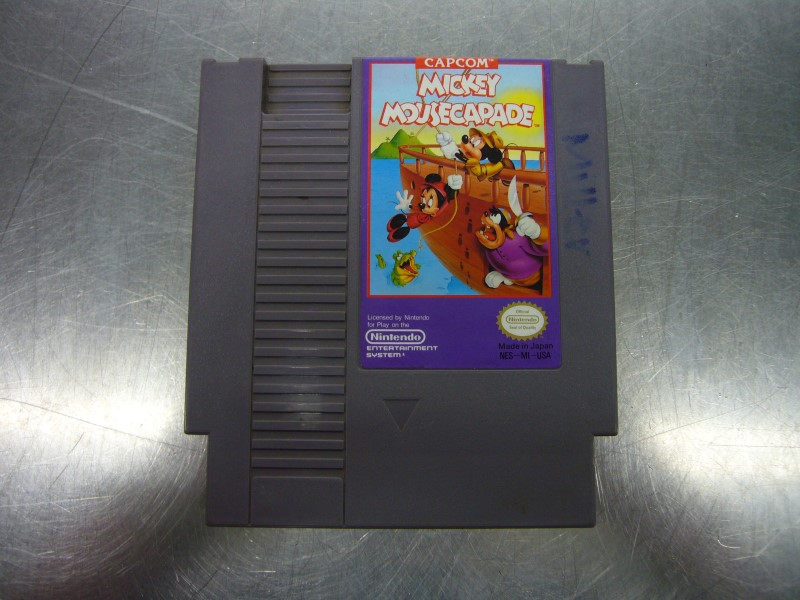 NINTENDO NES Game MICKEY MOUSECAPADE *CARTRIDGE ONLY*