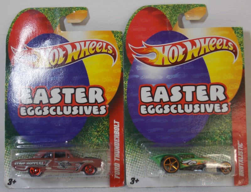 HOT WHEELS EASTER EGGSCLUSIVES: 2 VEHICLES