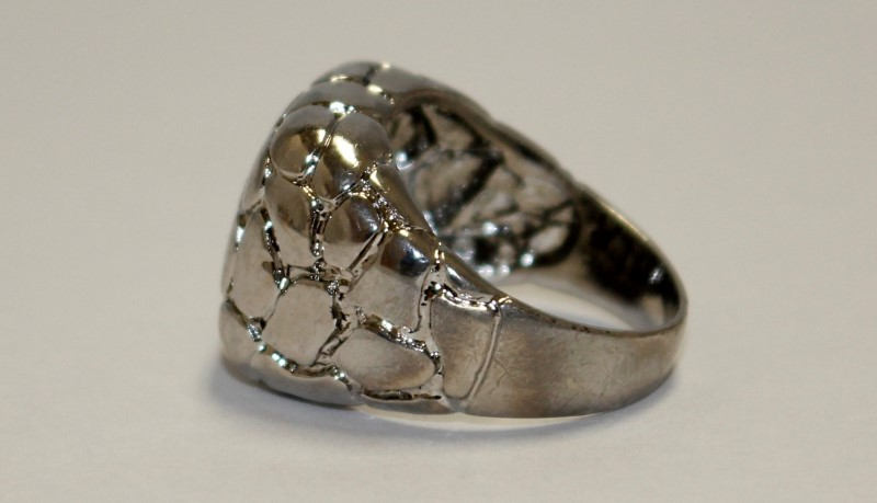 Lady's Silver Ring 925 Silver 9.24g Size:9