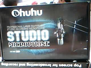 OHUHU Microphone STUDIO MICROPHONE