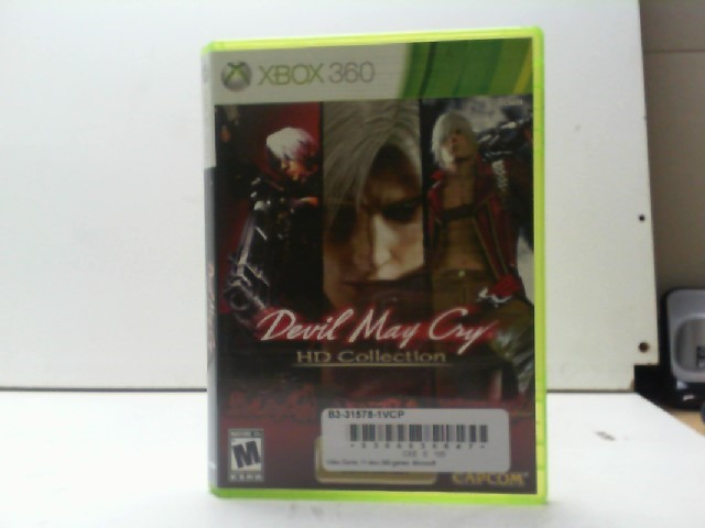 MICROSOFT Microsoft XBOX 360 Game DEVIL MAY CRY HD COLLECTION