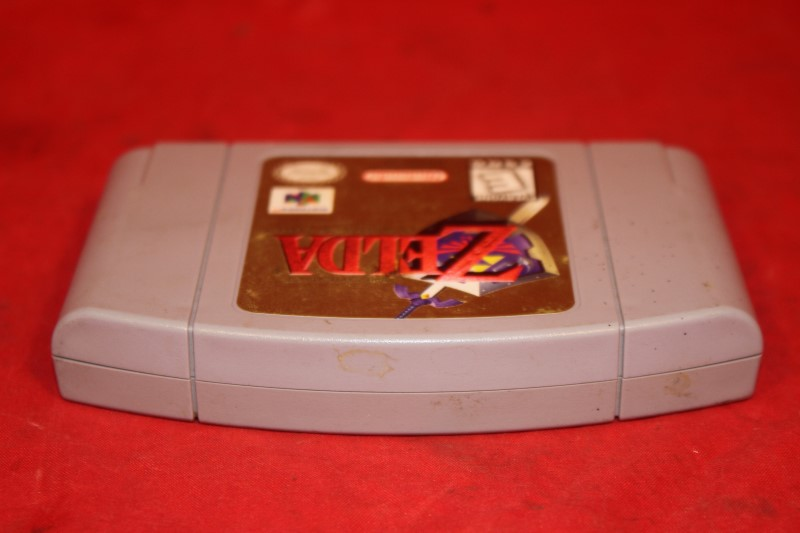 Legend of Zelda: Ocarina of Time (Nintendo 64, 1998) N64