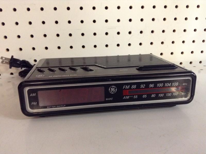 GE Miscellaneous Appliances CLOCK RADIO