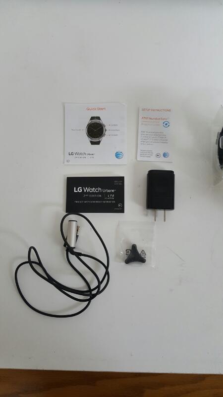 LG Urbane 2nd Edition LG-W200A Black Smart Watch (AT&T)