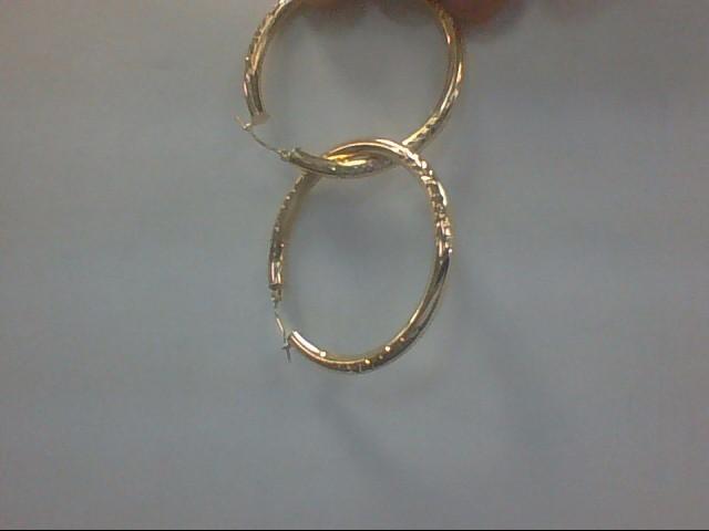 Gold Earrings 14K Yellow Gold 5.1g